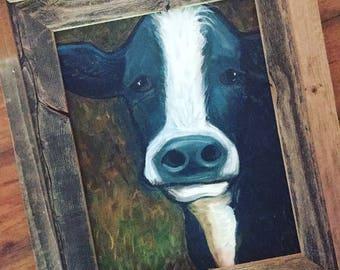 Rustic Cow