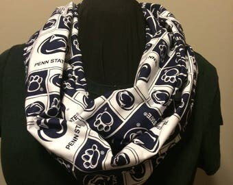 Penn State Nittany Lions College Football Cotton Infinity Scarf