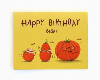 Happy Birthday Bella! - greeting card