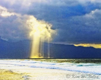 Clouds and light photo Sun shining through clouds Sun rays Light through clouds God Rays Light Rays Beams of Light Crepuscular rays