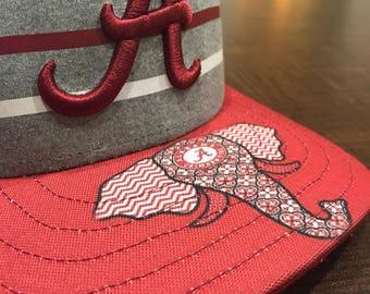 Alabama crimson tide hat