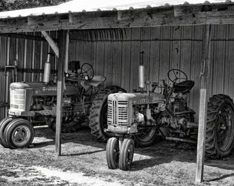 Old Tractors 5x7 Picture