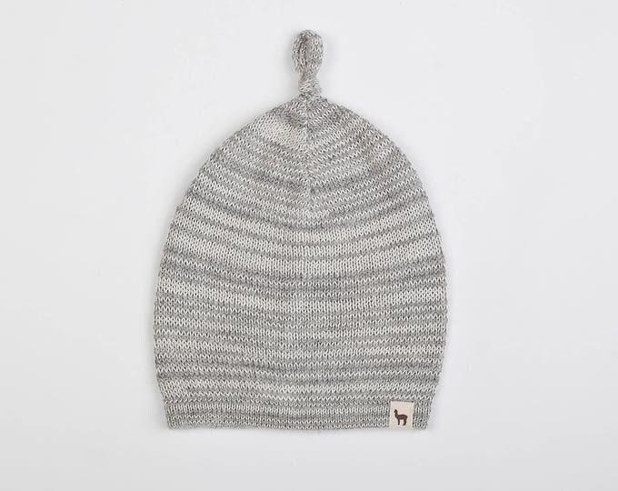 32a1287bb3c Knit alpaca wool hat   baby   children   toddler  alpaca wool slouchy beanie