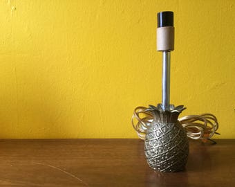 Vintage Brass Pineapple Lamp