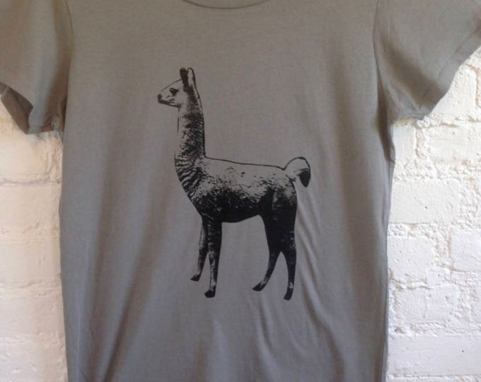 Llama T shirt Short sl. adult super soft cotton - FREE SHIPPING