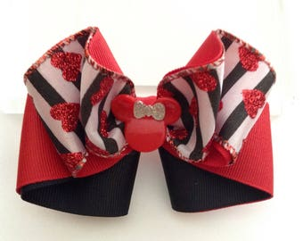 Valentine Hair Bow.