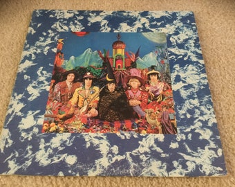 The Rolling Stones Their Satanic Majesties Request Vinyl Record LP