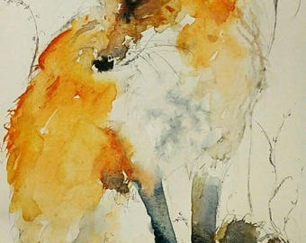 Watchful Fox