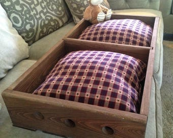 Re-purposed, Rustic Dog Bed