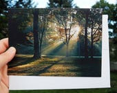 Original Photography Card, Magical Sunrise, NJ, Original Photo by Mariya Kovalyov, 5 x 7 inches