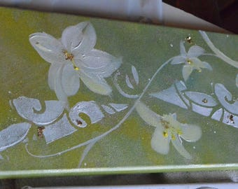 "painting flowers ""Hawaii"""