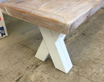 Bench seat , dining table bench, reclaimed wood