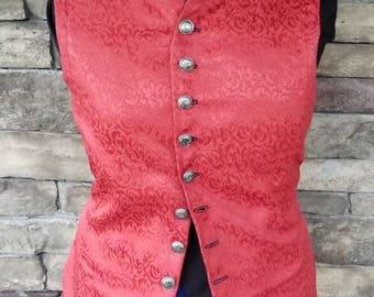 Short Style 17th Century Renaissance/Pirate Vest