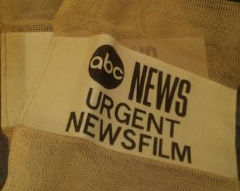 ABC News Onion Mesh Film Bag RARE