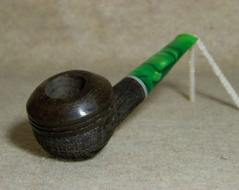 Medium Morta Rhodesian Sandblast Tobacco Pipe DW1068