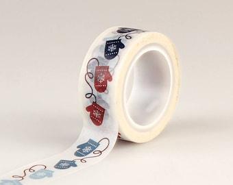 Echo Park Paper Co. Decorative Tape - Winter Mittens