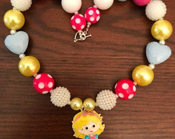 Mary Had A Little Lamb Bubble Gum Necklace (child/toddler)