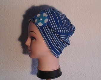 Reversible, stretchable chemo hat, mid summer, wife, daughter