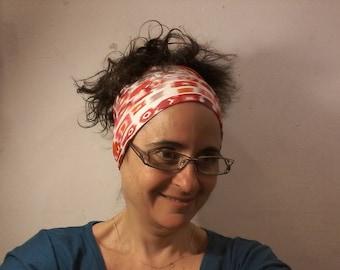 Geometric reversible headband