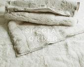 SPECIAL ORDER for Anna Genuine Sheepskin Rug Big White / 270 x 300 Centimeters / Handmade Decorative Sheepskin Rug / Shaggy Sheepskin Rug.