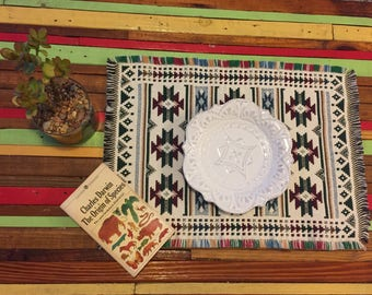 Vintage Southwestern Tribal Placemats/Tablemats (2)