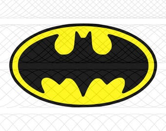 Batman Emblem SVG, PNG, and STUDIO3 Cut File for Silhouette Cameo/Portrait and Cricut Explore DIY Craft Cutters