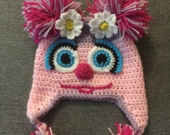Sesame Street Abby Cadabby inspired Hat