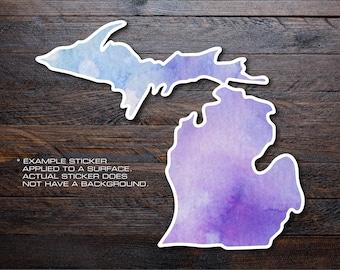Michigan Mitten Vinyl Decal Sticker A01