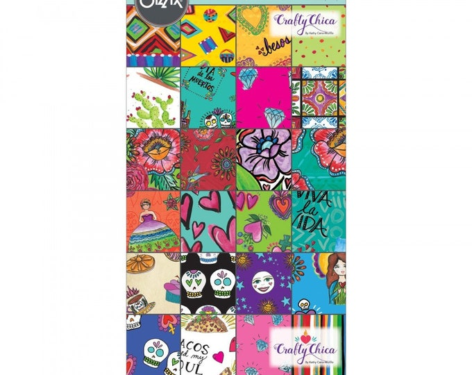 "New! Sizzix Paper - 6"" x 12"" Cardstock Pad, My Happy Life, 48 Sheets by Crafty Chica 662325"