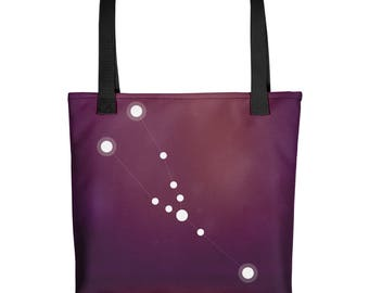 Tote bag - Zodiac Taurus Constellation Tote Bag