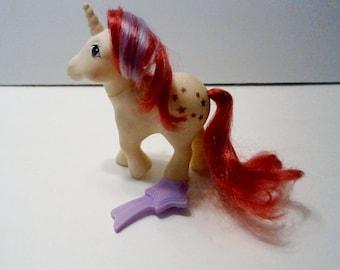 Vintage My Little Pony Unicorn Moondancer G-1 Year Two Hasbro Toy company