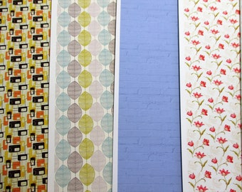 SALE! full pack of 10 single sheets! of beautiful dollhouse quality paper