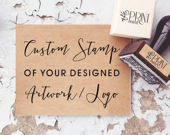 Custom Stamp, Custom Logo Stamp, Business Card Stamp, Personalized Stamp,  Custom Business Stamp, Custom Rubber Stamp, Self-Inking Stamp