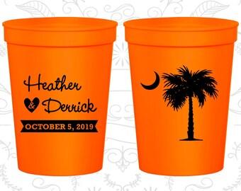 Palmetto Tree, Promotional Stadium Cups, Crescent Moon Cups, South Carolina Palmetto, Palmetto Moon, Palmetto Tree Moon, souvenir cups (77)