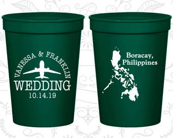 Forest Green Stadium Cups, Forest Green Cups, Forest Green Party Cups, Forest Green Wedding Cups (187)