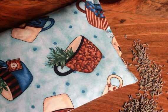 Rice Bag Hot/Cold, Coffee lover, heating pack, cotton fabric rice bag