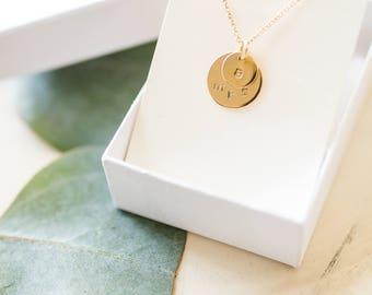 Custom Mrs. Initial Necklace