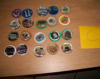 New Orleans Themed Magnet Set 20