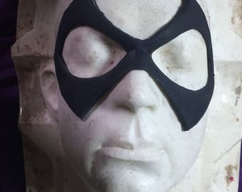 Silicone mask prosthetic for super hero cosplay - nightwing , green lantern, harley quinn, robin