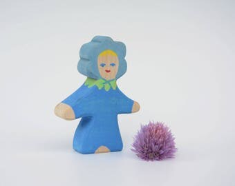 Flower Child Forget-Me-Not, Nature Table, Wooden Toys, Wood, Deco