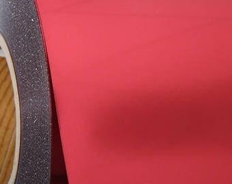 "Red Metallic 20"" Heat Transfer Vinyl Film By The Yard"