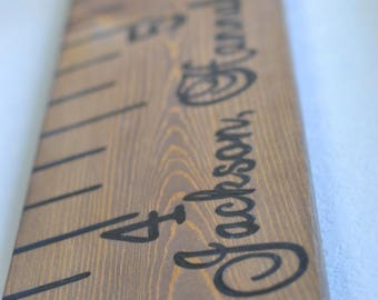 Growth Chart Ruler; Growth chart; wooden growth ruler; gotcha day; wooden ruler; adoption gifts; adoption sign; adoption day; blended family