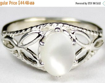 On Sale, 30% Off, Mother of Pearl, 925 Sterling Silver Ring, SR137