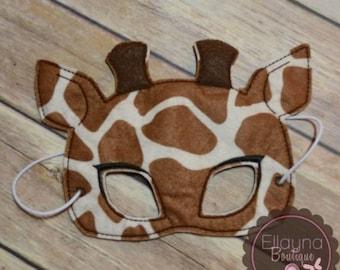 Felt Mask - Giraffe
