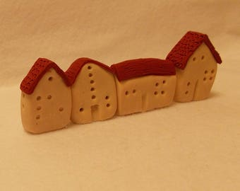 Use These Miniature Houses As A Shelf, Cabinet, Window Sill Sitter, Fairy House, or Fairy Garden