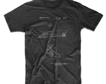 Boeing Comanche Attack Helicopter Patent T Shirt, Army Shirt, Military Gifts, Aviation Shirt, Helicopter Baby, PP0302