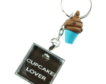 TFB - CHOCOLATE CUPCAKE Lover Keyring Chain