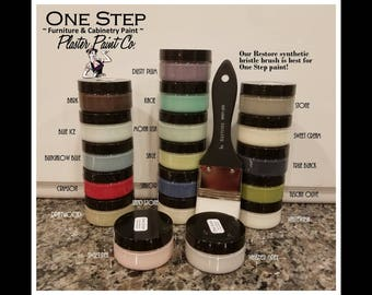 One Step Paint by The Plaster Paint Company * Chalk Paint * No Sealant Required