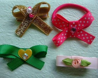 My Sister & I, Baby Girl, Girl Hair Bows, Hair Bows, Bows, Pretty Bows, Hair Accessories, Hair Care, Grosgrain Bows, Metallic Bow