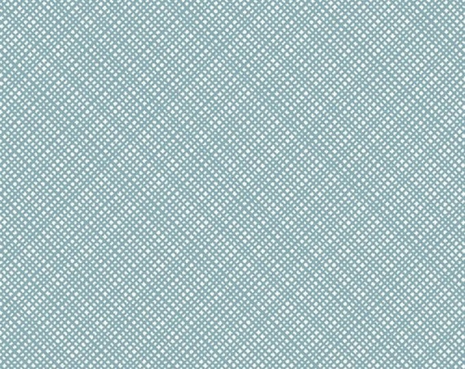 """32"""" REMNANT Oh Clementine - Texture in Teal - Cotton Quilt Fabric - by Allison Harris of Cluck Cluck Sew for Windham Fabrics (W2120)"""